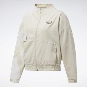 Спортивная куртка Classics Corduroy Reebok. Цвет: alabaster