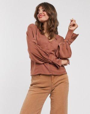 Свободная блузка -Медный Gestuz