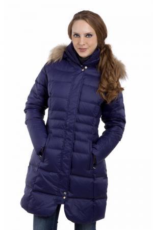 Пальто Just Valeri. Цвет: фиолетовый