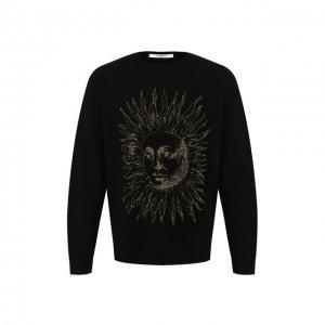 Шерстяной пуловер Givenchy. Цвет: чёрный