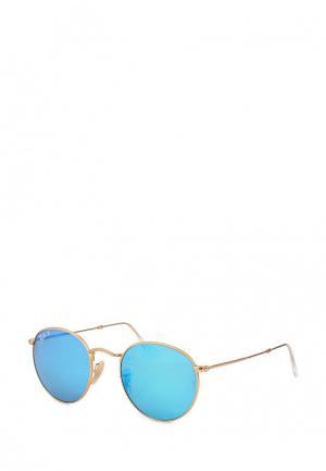 Очки солнцезащитные Ray-Ban® RB3447 112/4L. Цвет: золотой