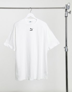 Белое платье-футболка -Белый Puma