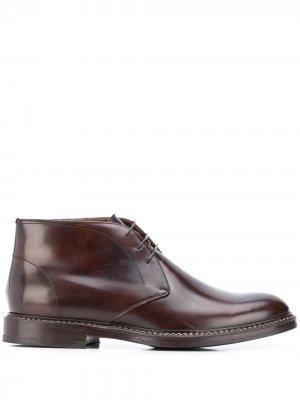 Ботинки дезерты на шнуровке Brunello Cucinelli. Цвет: коричневый