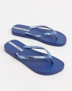 Темно-синие шлепанцы -Темно-синий Ipanema