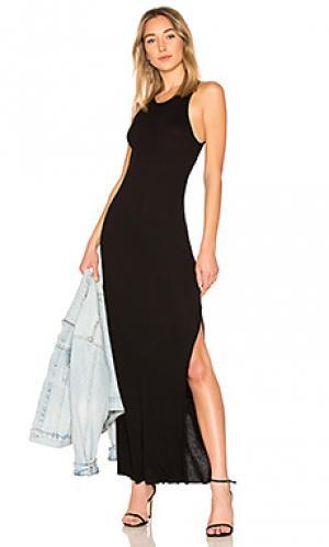 Платье-майка melbourne COTTON CITIZEN. Цвет: черный