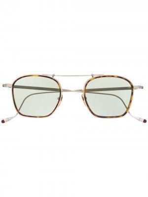 Солнцезащитные очки Baudelaire Antique Jacques Marie Mage. Цвет: серебристый