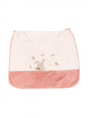 Одеяло с вышивкой Familiar. Цвет: белый