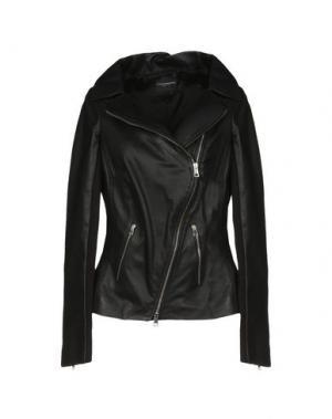 Куртка ATOS LOMBARDINI. Цвет: черный