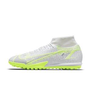 Футбольные бутсы для игры на синтетическом покрытии Nike Mercurial Superfly 8 Academy TF - Белый