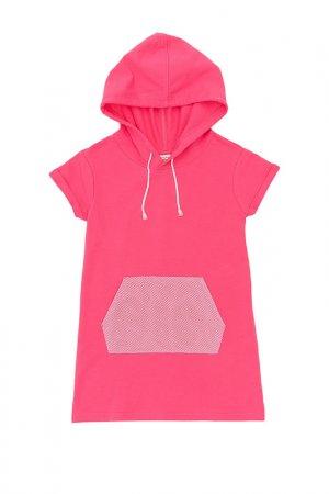Платье Button Blue. Цвет: розовый