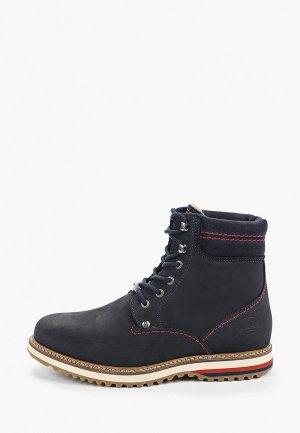 Ботинки Dockers by Gerli 25745. Цвет: синий