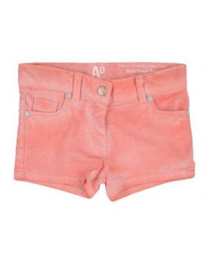 Джинсовые шорты AMERICAN OUTFITTERS. Цвет: коралловый