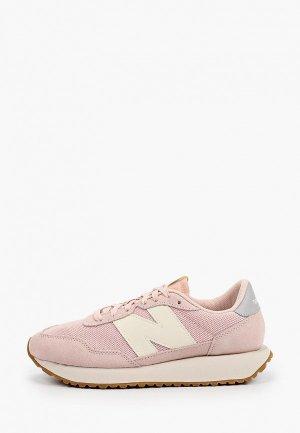 Кроссовки New Balance 237. Цвет: розовый
