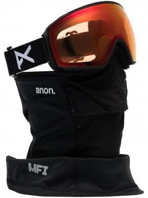 Лыжные очки M4 Toric MFI Anon. Цвет: черный