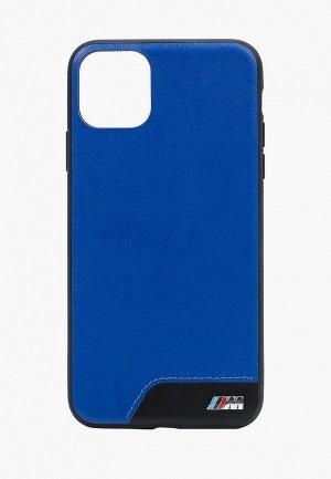 Чехол для iPhone BMW 11 Pro Max, M-Collection Smooth PU Blue. Цвет: синий