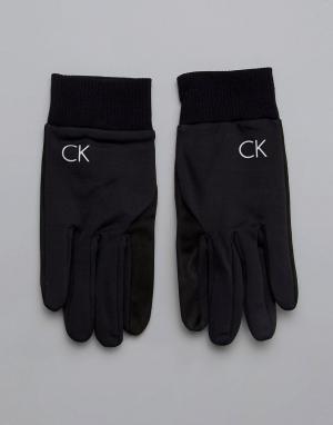 Черные перчатки -Черный Calvin Klein Golf