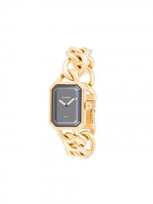 Наручные часы Premiere 20 мм Chanel Pre-Owned. Цвет: золотистый