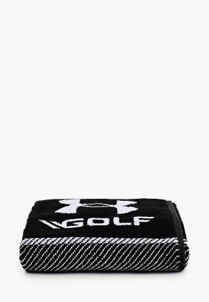 Полотенце Under Armour Bag Golf Towel, 51х51. Цвет: черный