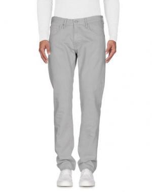 Джинсовые брюки AG JEANS. Цвет: светло-серый