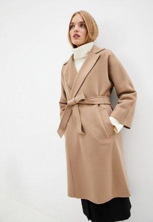 Пальто Weekend Max Mara. Цвет: бежевый