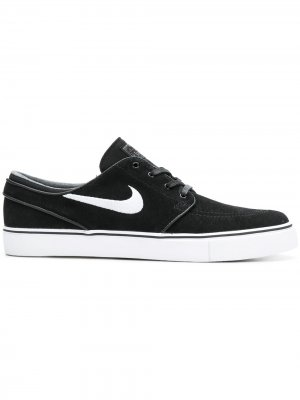 Logo lace-up sneakers Nike. Цвет: черный