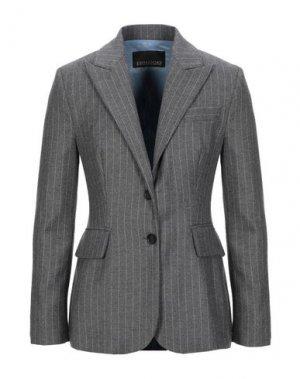 Пиджак ERMANNO DI SCERVINO. Цвет: серый