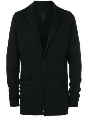 Классический пиджак Thom Krom. Цвет: черный