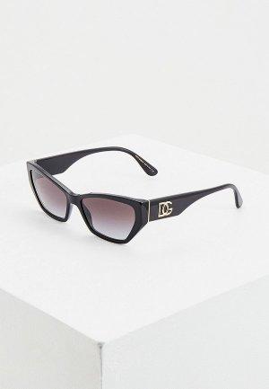 Очки солнцезащитные Dolce&Gabbana DG4375 501/8G. Цвет: черный