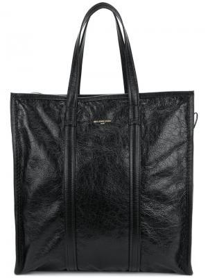 Сумка-шоппер Bazar Balenciaga. Цвет: черный