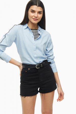 Туника-рубашка Tom Tailor. Цвет: синий