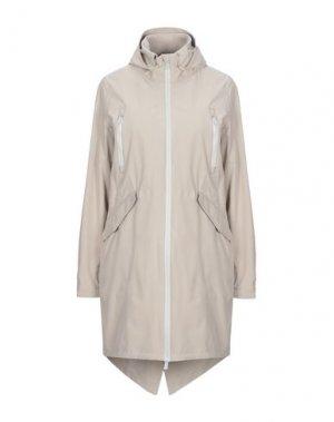 Легкое пальто PEOPLE OF SHIBUYA. Цвет: бежевый