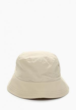 Панама Jack Wolfskin SUPPLEX SUN HAT. Цвет: бежевый