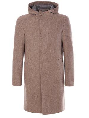 Пальто-дафлкот шерстяное CANALI