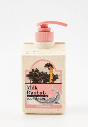 Лосьон для тела Milk Baobab OWM, 500 мл. Цвет: прозрачный