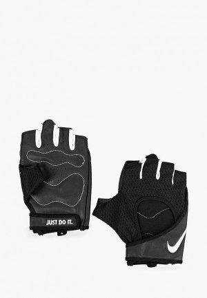 Перчатки для фитнеса Nike WOMENS PERF WRAP TRAINING GLOVES. Цвет: черный