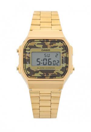 Часы Casio Collection A-168WEGC-5E. Цвет: золотой
