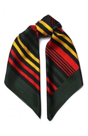 Шелковый платок Sonia Rykiel. Цвет: разноцветный