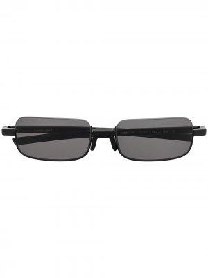 Солнцезащитные очки Nobo в прямоугольной оправе AMBUSH. Цвет: черный