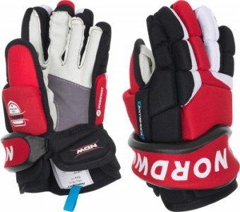 Перчатки хоккейные детские 3.0 Ergonomic JR Nordway. Цвет: черный