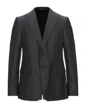 Пиджак HALSTON. Цвет: стальной серый