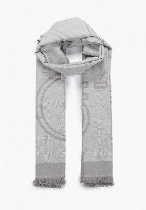 Палантин Calvin Klein. Цвет: серый
