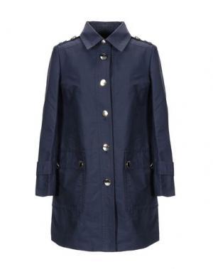 Легкое пальто MARC BY JACOBS. Цвет: темно-синий