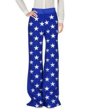 Повседневные брюки GARETH PUGH. Цвет: ярко-синий