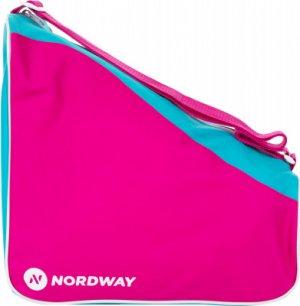 Сумка для ледовых коньков детская Nordway. Цвет: розовый