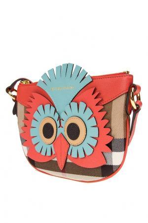 Комбинированная сумка Burberry Kids. Цвет: multicolor