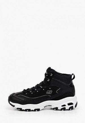 Кроссовки Skechers DLITES. Цвет: черный
