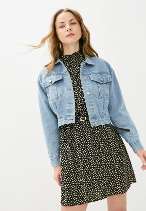 Куртка джинсовая Goldrai. Цвет: голубой