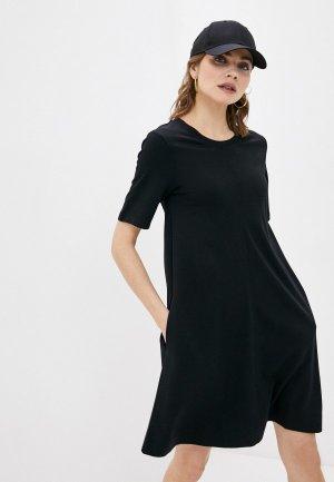 Платье Gant. Цвет: черный