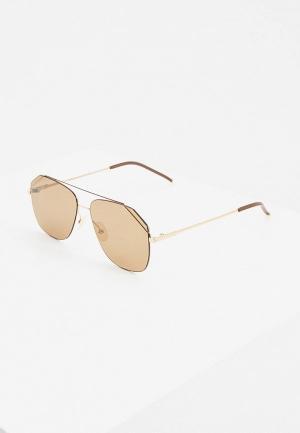 Очки солнцезащитные Fendi FF M0043/S 01Q. Цвет: коричневый
