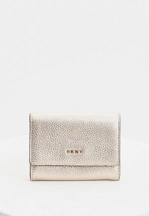 Ключница DKNY. Цвет: серебряный